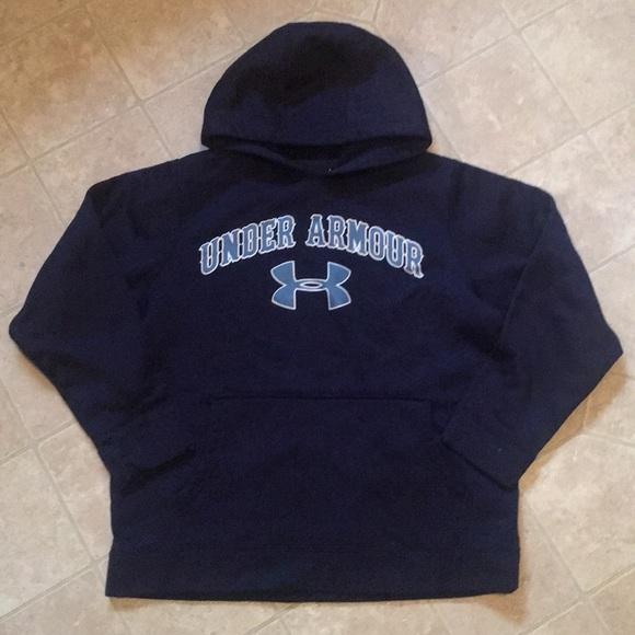 cc78a5b64 Boys Youth Medium blue sweatshirt Under Armor. M_5c018dd49519962644fdb6c4